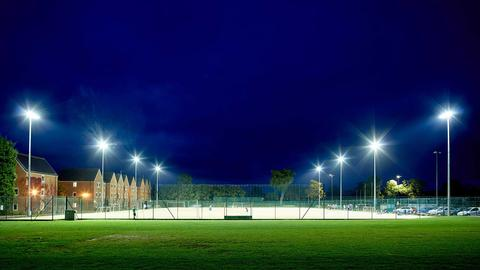 Floodlit Astro turf all weather pitch