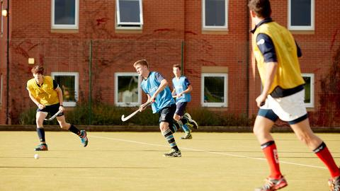 Men's hockey on the all weather pitch