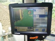 Trimble display